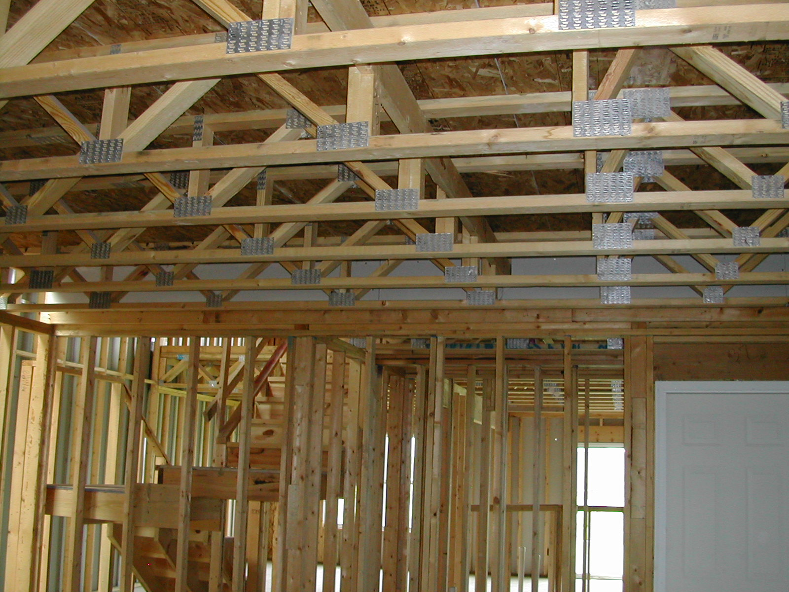 Engineered floor trusses for Floor joist construction