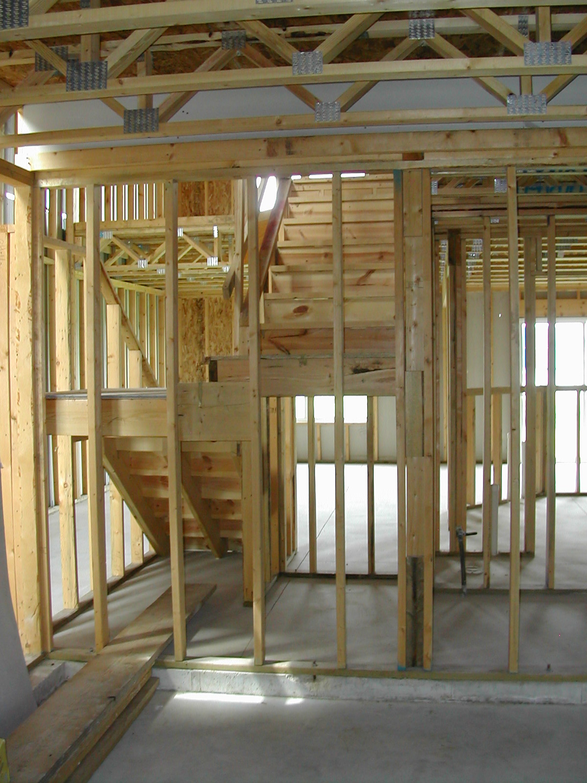 Frame quality issues finished basement armchair builder for How to frame a two story house