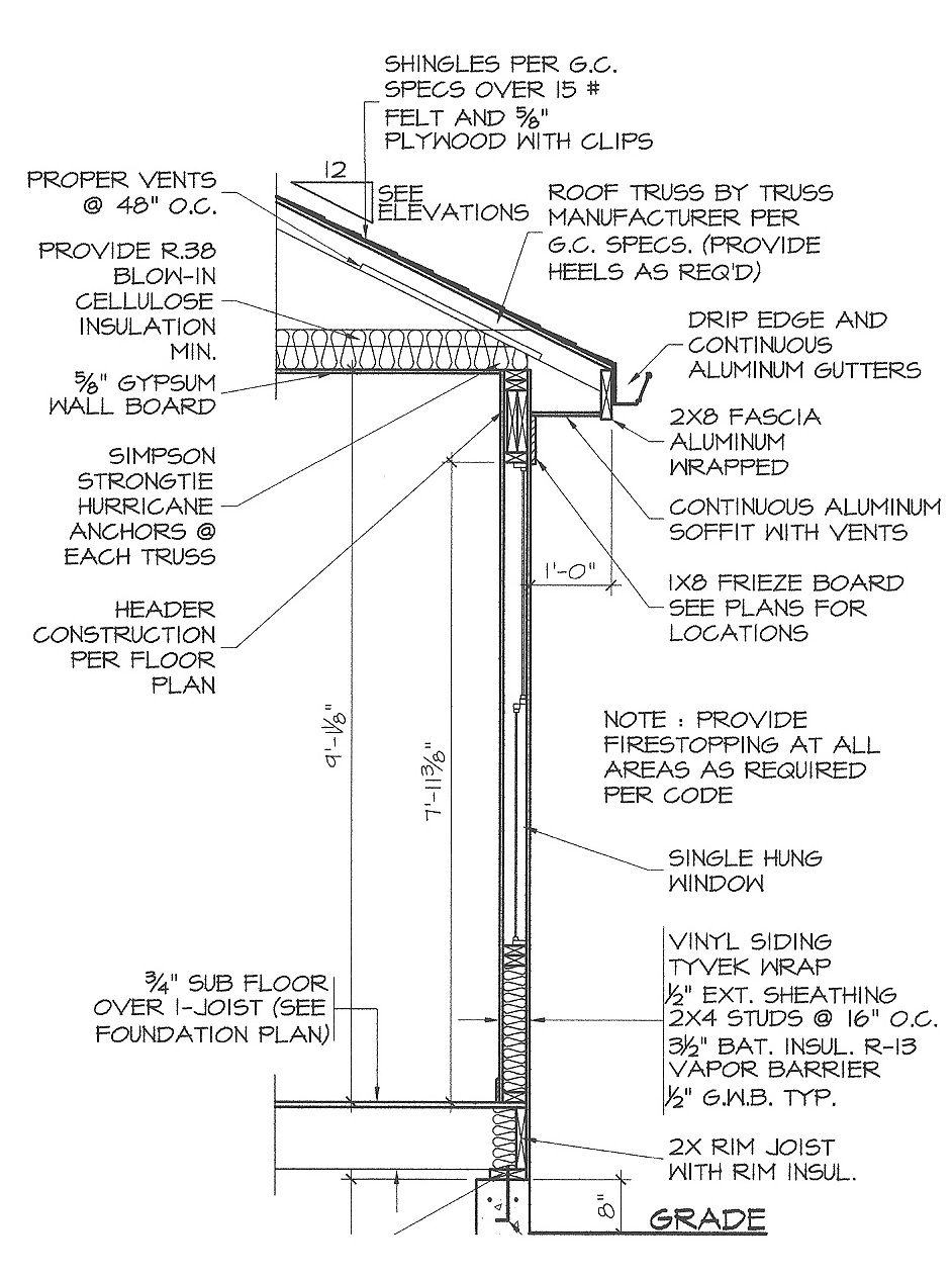Cost to add a new owner built bathroom armchair builder blog - Cross Section Of Wall