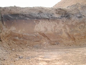 Clay Soil at Excavation