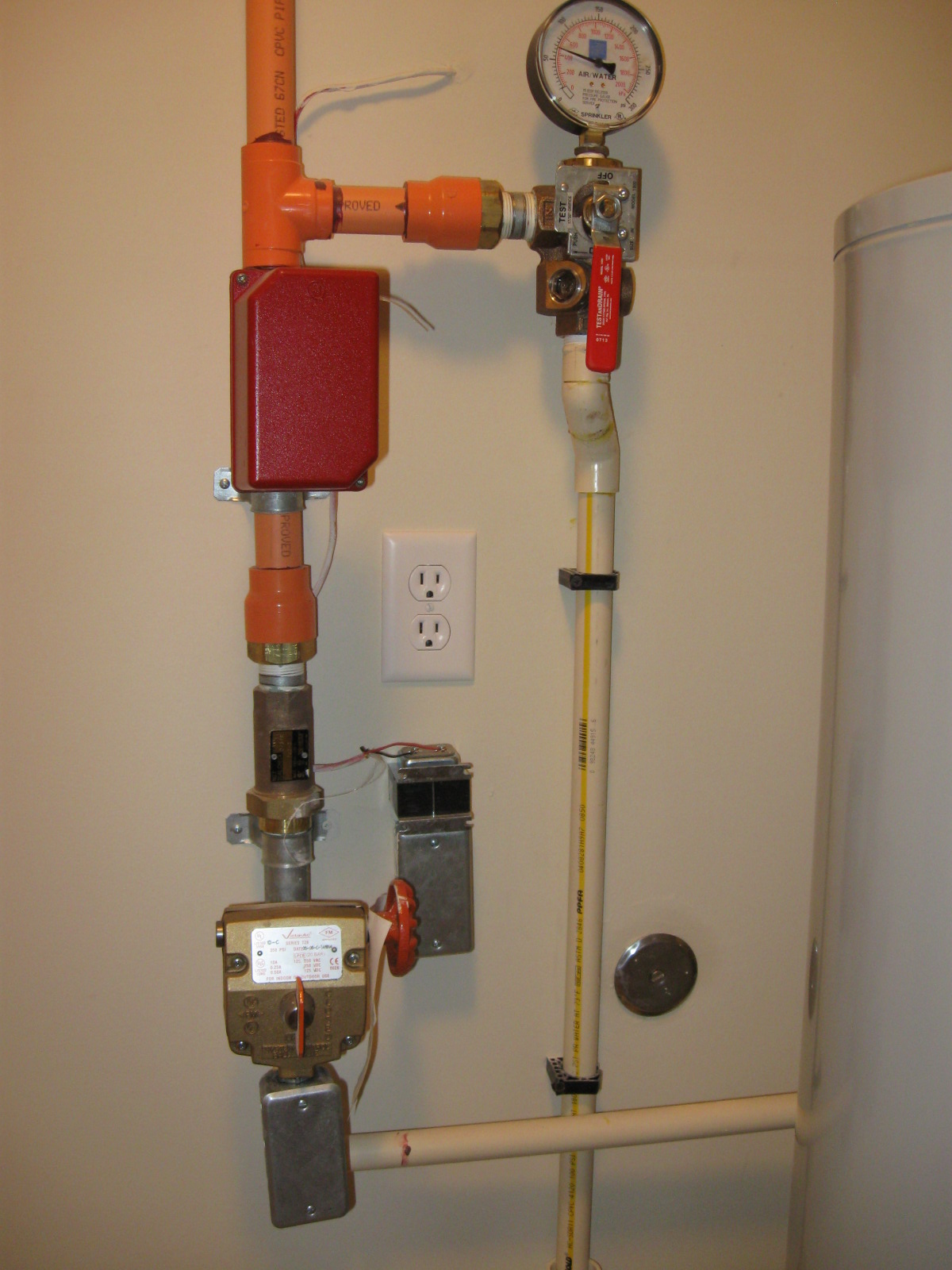 Delightful Home Fire Sprinkler System Photo