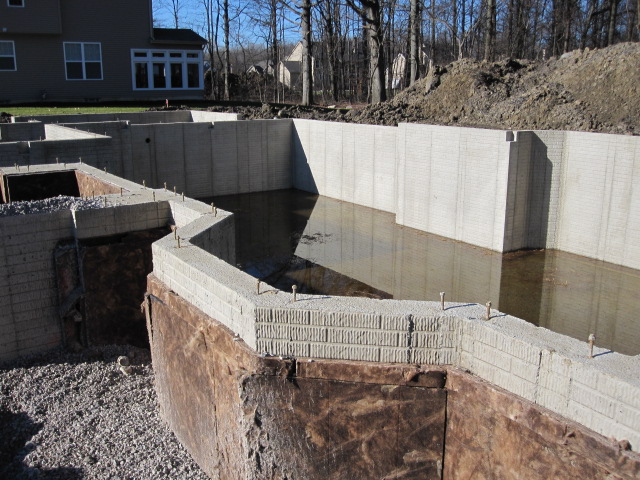 Tips for a dry basement armchair builder blog for Building a basement foundation