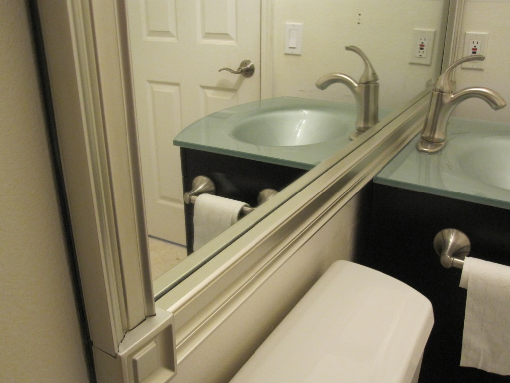 Mirror Molding In 45 Minutes Armchair Builder Blog Build Renovate Repair Your Own