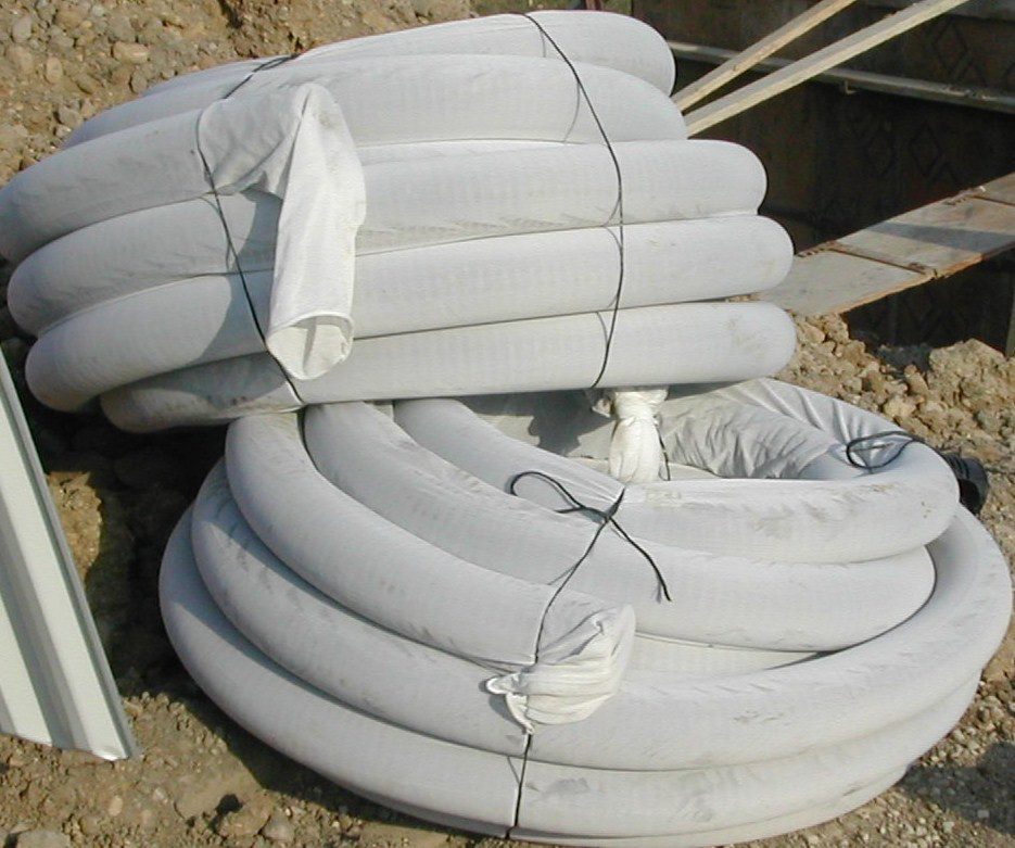 What is drain tile armchair builder blog build renovate corrugated drain tile pipe with filter fabric 50 ppazfo