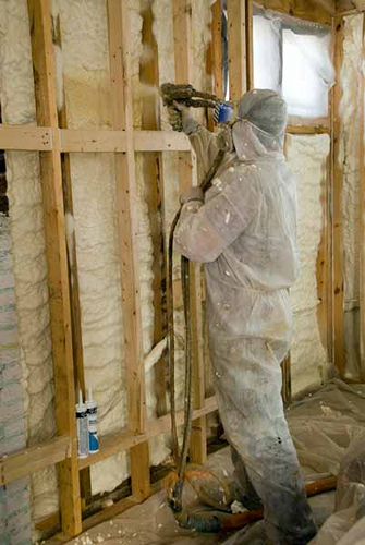 Spray Foam Insulation Types