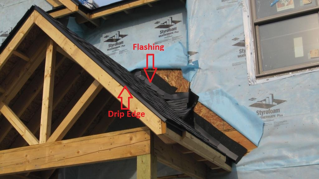 Flashing for New Roof