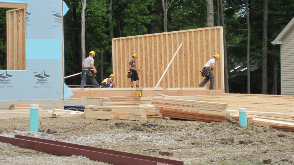 Site Built Home manufactured house: how we build homes- armchair builder :: blog