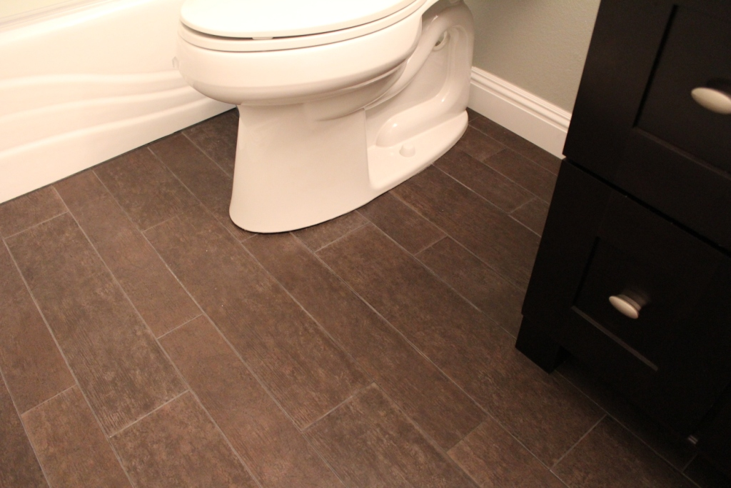 Tile That Looks Like Hardwood - Tile That Looks Like Hardwood- Armchair Builder :: Blog :: Build