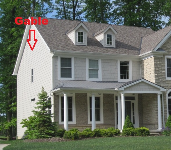 Picture Of A Gable Roof: Hip Roof Design...The Definition And Pros And Cons For