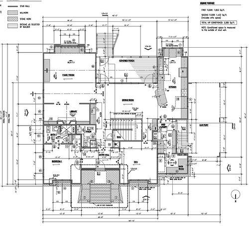architectural plans - Step House Plans