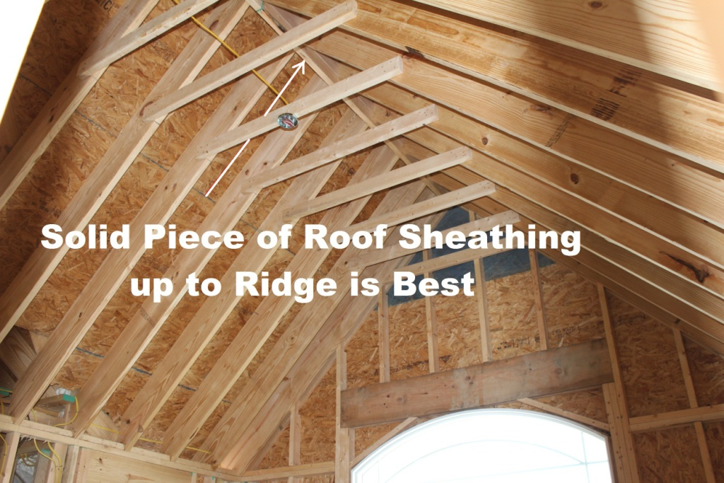 Attic Snow Can Occur When Conditions Are Right With Ridge