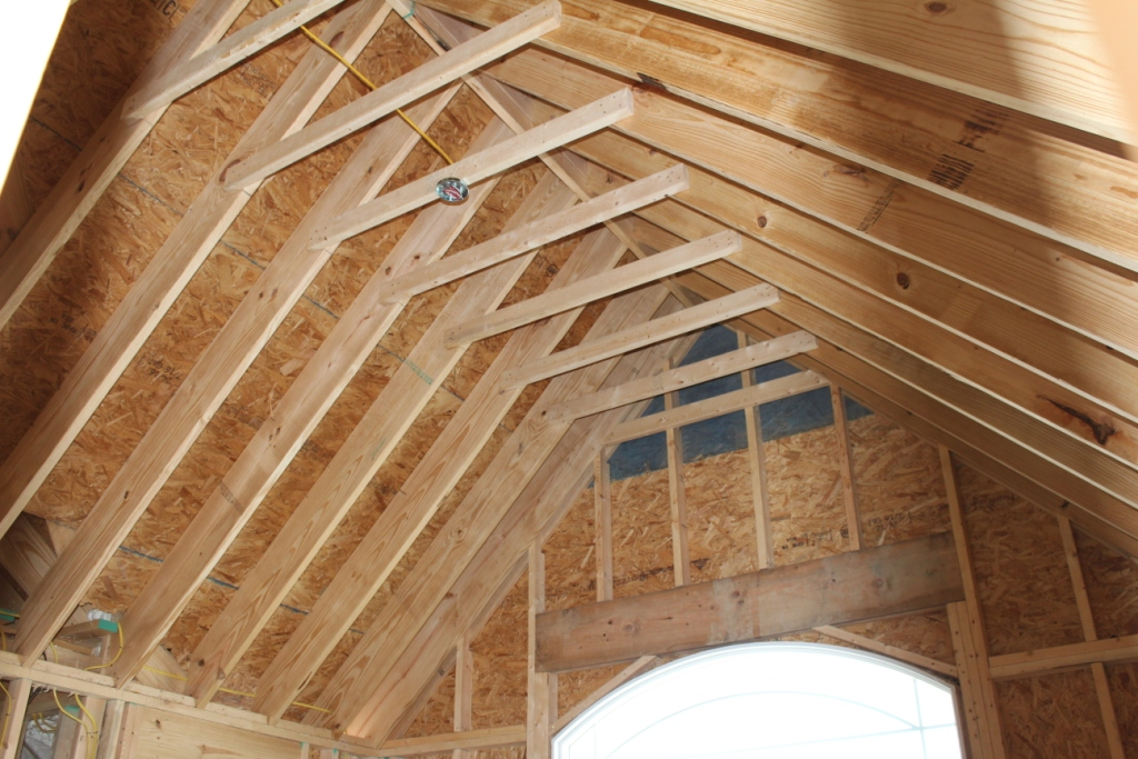 Vaulted Ceiling Precautions Don T Get In Trouble On Your Project Armchair Builder Blog Build Renovate Repair Your Own Home Save Money As An Owner Builder