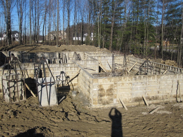 Forms for House Foundation