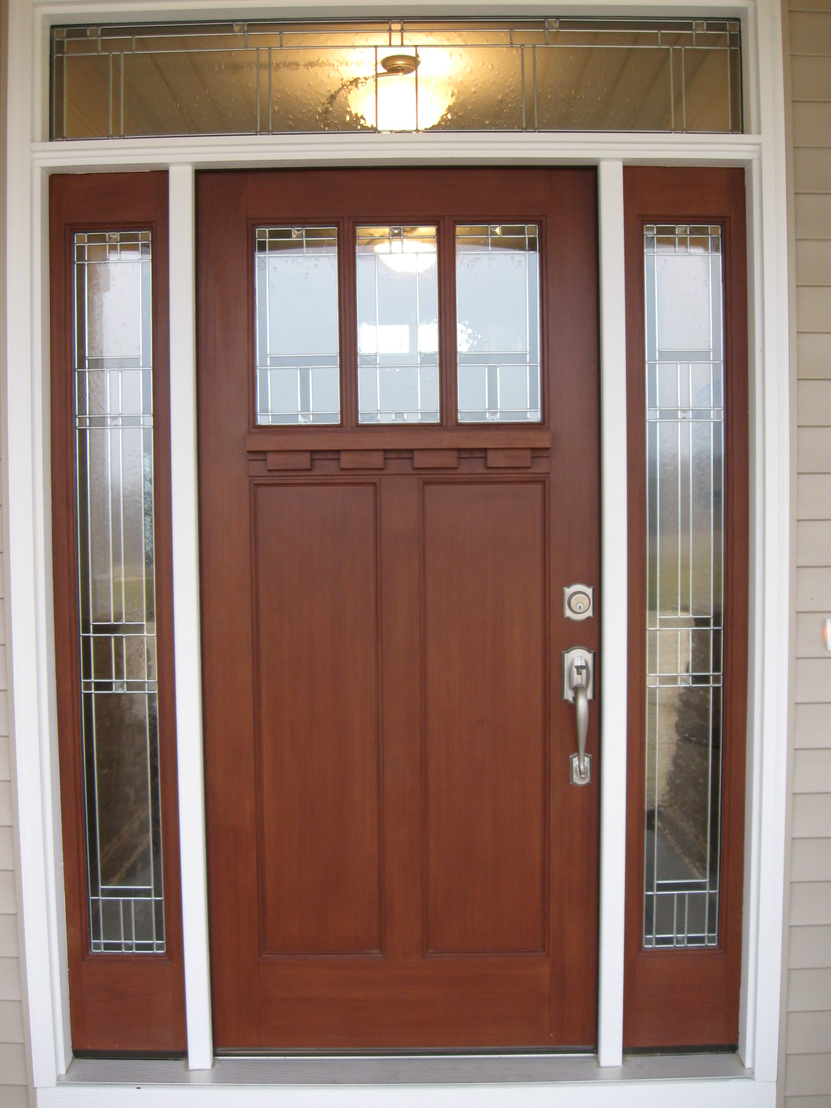 How to install a prehung door properly in your new home for Front entry door installation
