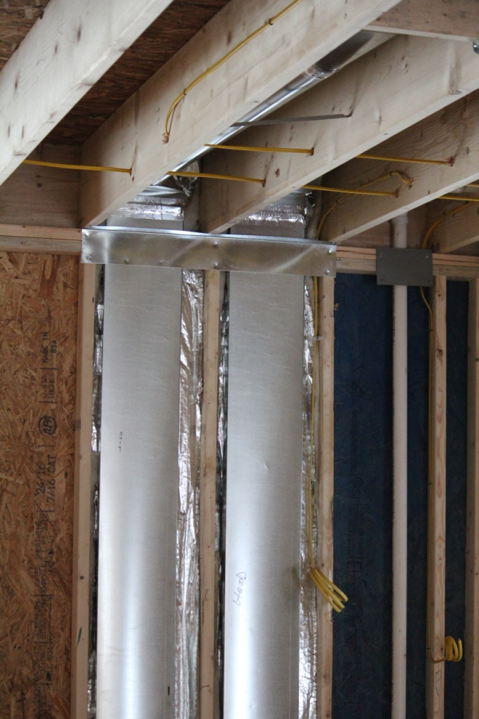 Heating And Cooling Rough In When Building A New Home