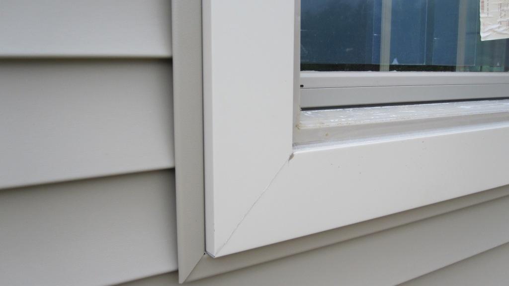 Window vinyl trim replacement windows trim window - How to caulk exterior window trim ...