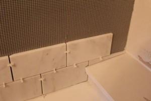 Installing Tile with Bondera