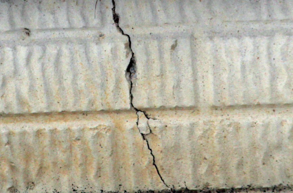 Poured Foundation Wall Crack
