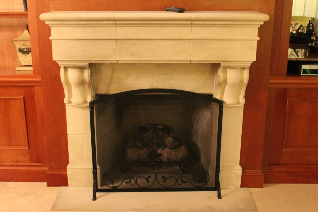 Prefab Fireplace Finishes