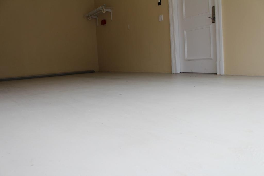 Garage Floor Epoxy Application