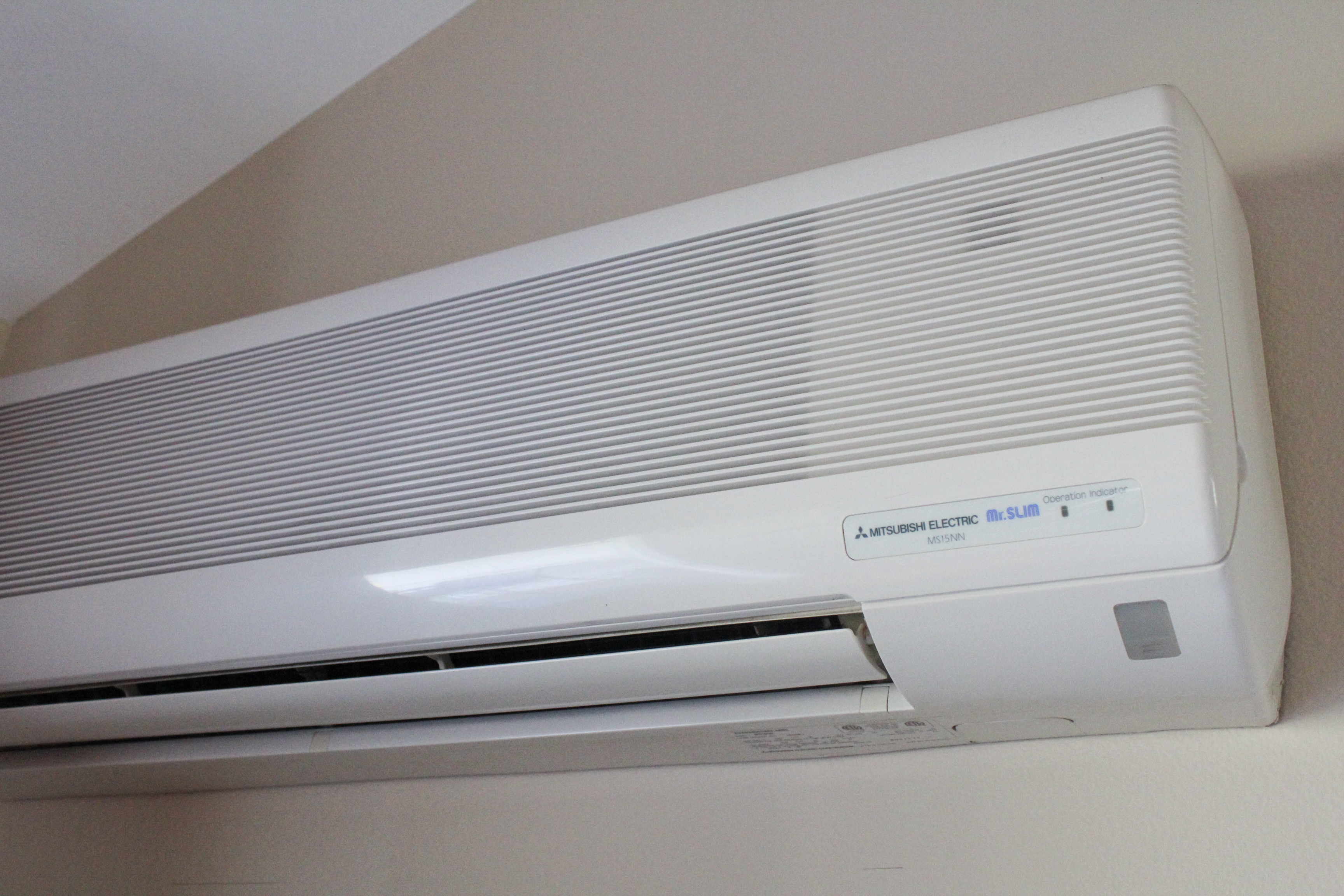 Electric Heat And Air Wall Units : Ductless heating and cooling systems to lower your costs