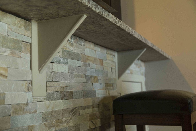 Granite countertop support tips to prevent failure How to support granite overhang