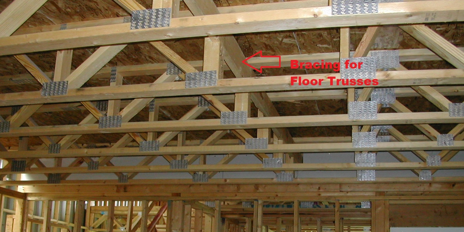 Floor squeaks with floor trusses prevention and repairs Floor trusses vs floor joists